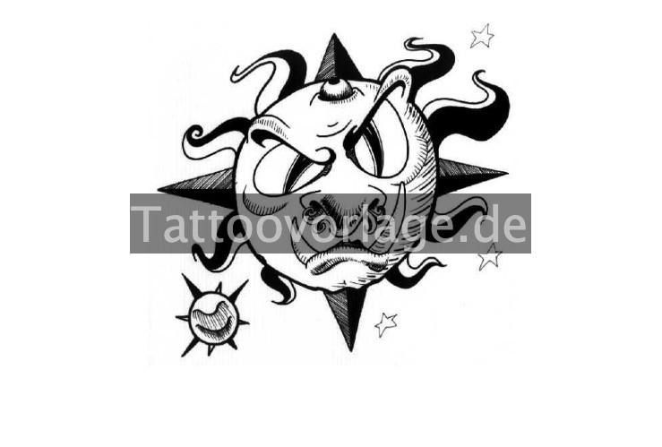 sonnen sterne tattoos kostenlose tattoovorlagen herunterladen. Black Bedroom Furniture Sets. Home Design Ideas