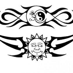 Sterne und Symbole Tattoos_42